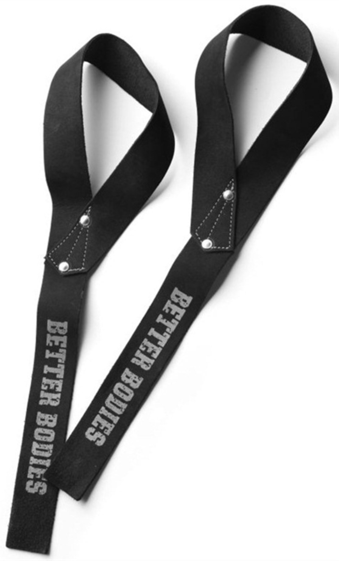 Better Bodies 1,5 inch Leather Straps,  - Better Bodies