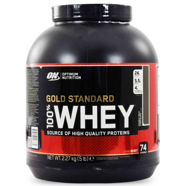 100% Whey Gold Standard Cookie & Cream 2273 g