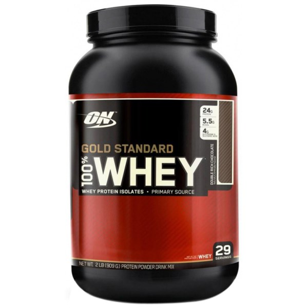 100% Whey Gold Standard Chocolate Peanut Butter 900 g