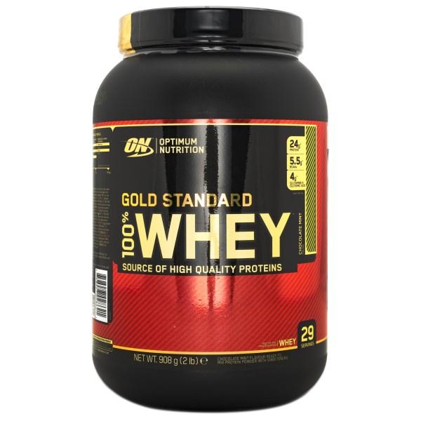 100% Whey Gold Standard Mintchoklad 900 g