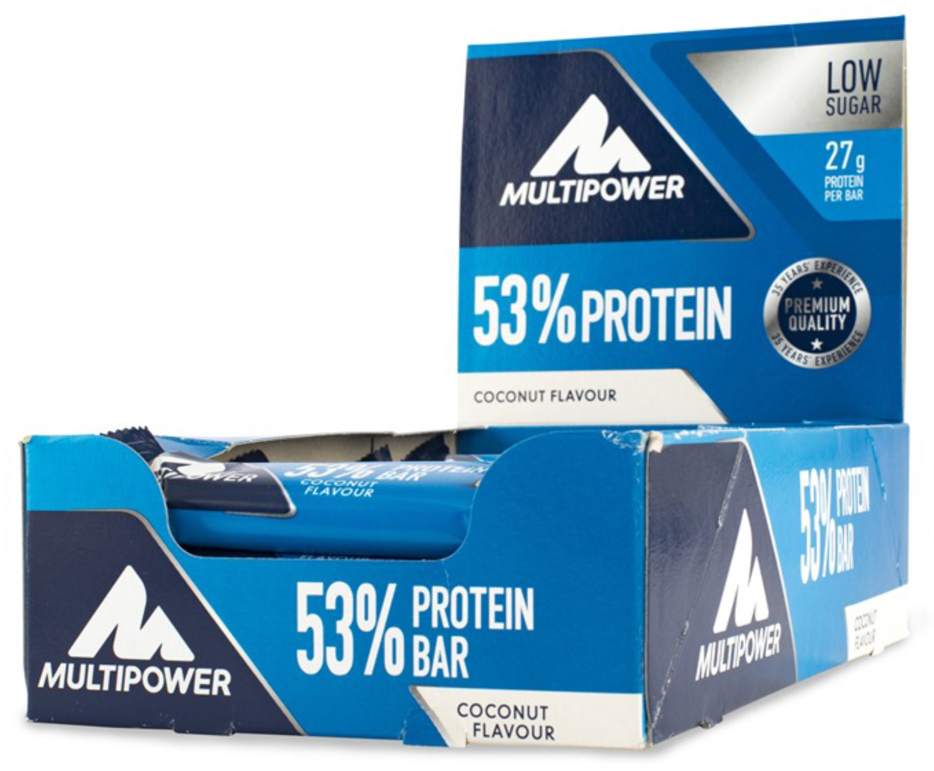 Multipower 53% Protein Bar,  - Multipower