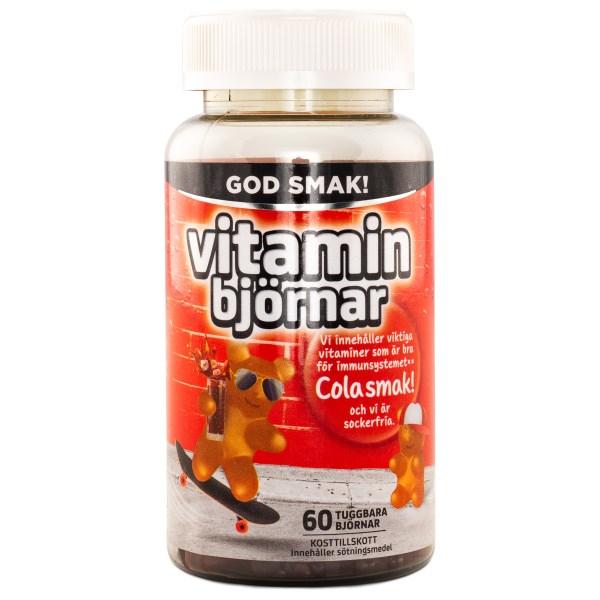 Active Care Vitaminbjörnar Cola 60 tuggisar