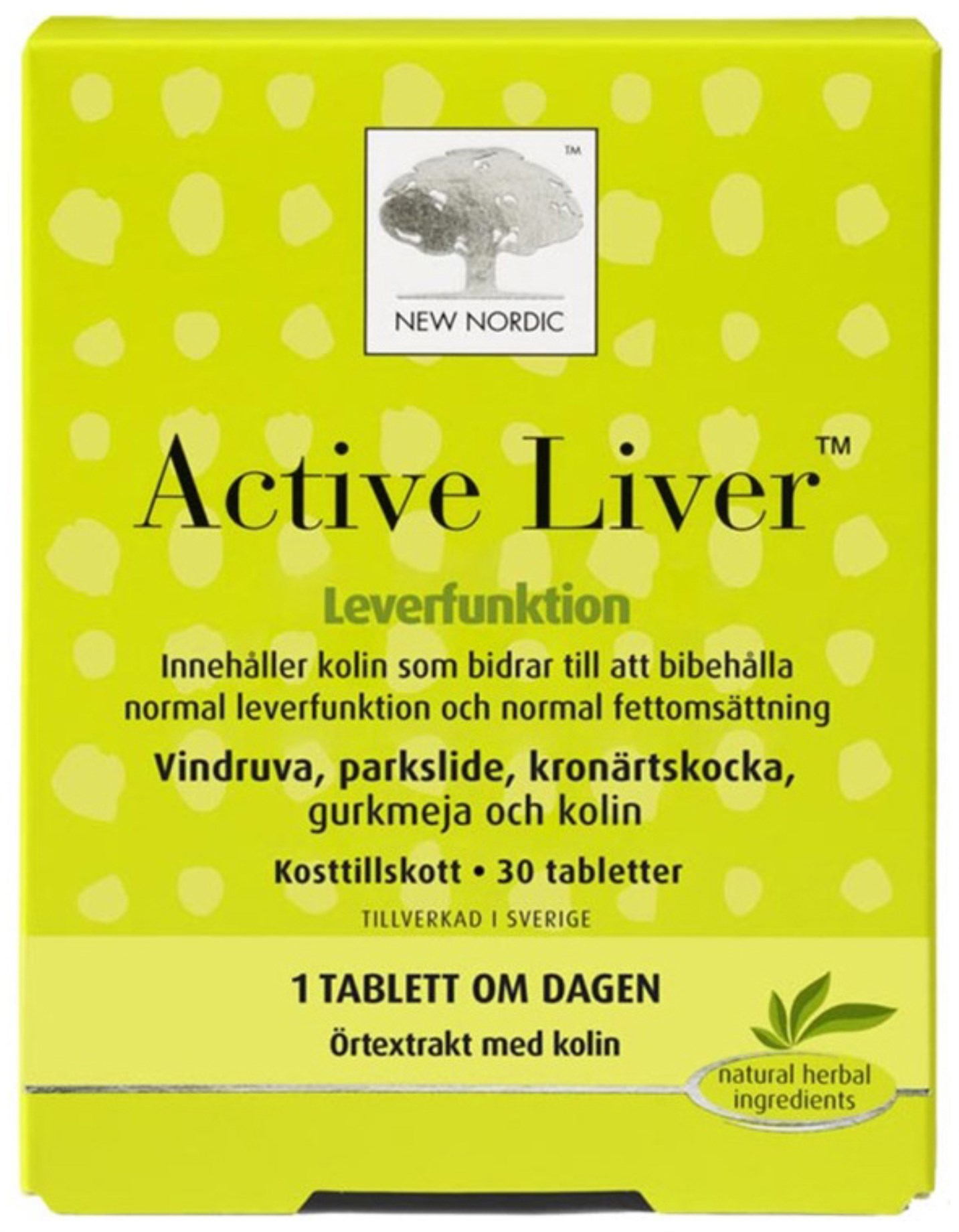 New Nordic Active Liver,  - New Nordic