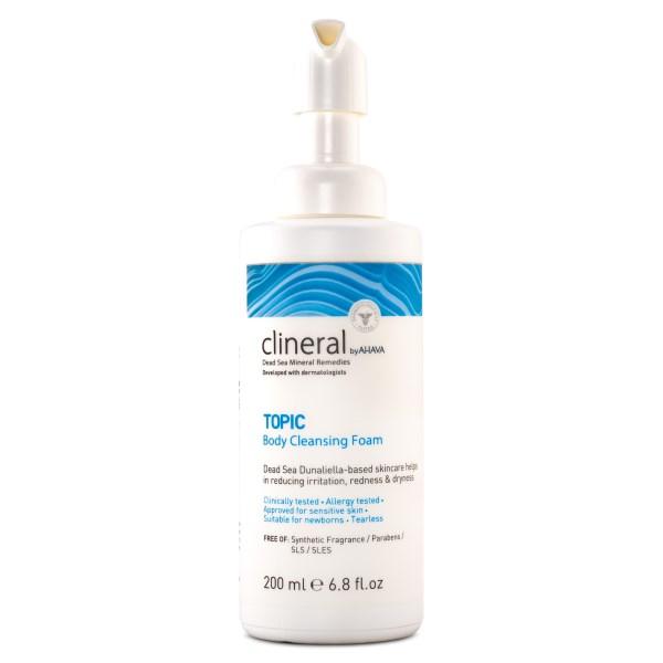 AHAVA Clineral TOPIC Body Cleansing Foam 200 ml