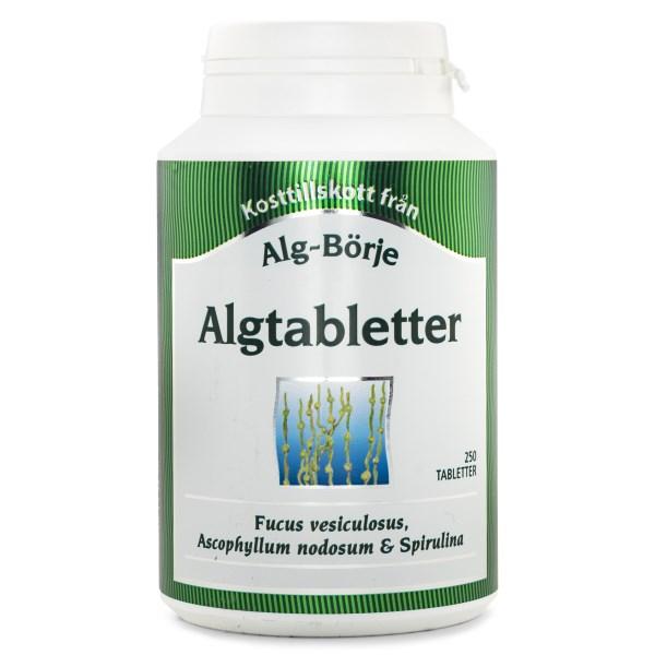 Alg-Börje Algtabletter 250 tabl