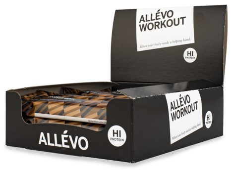 Allevo Before Workout Bar