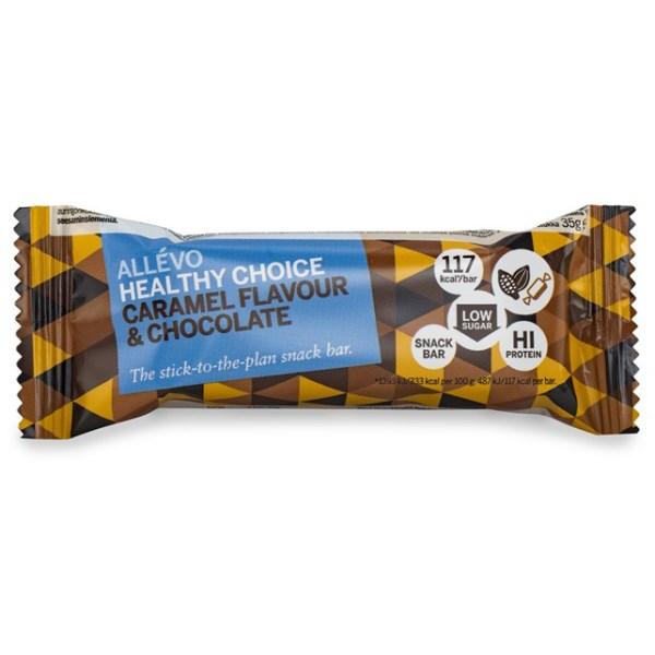 Allevo Healthy Choice Bar Caramel & Chocolate 1 st