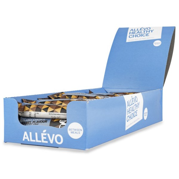 Allevo Healthy Choice Bar Caramel & Chocolate 24-pack