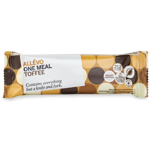 Allevo One Meal Bar Toffee 1 st