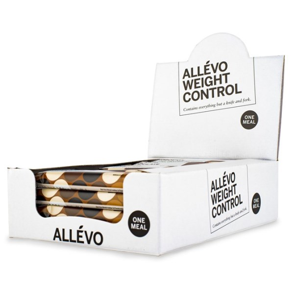 Allevo One Meal Bar Dark chocolate 20-pack