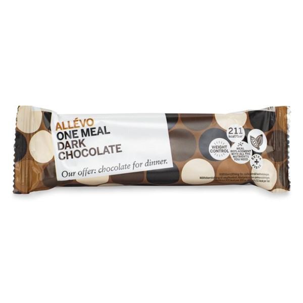 Allevo One Meal Bar Dark chocolate 1 st