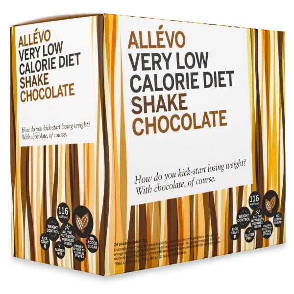 Allevo VLCD Shake  Chocolate 24 portioner