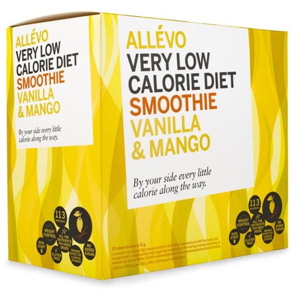 Allevo VLCD Smoothie Vanilj & Mango 20 portioner