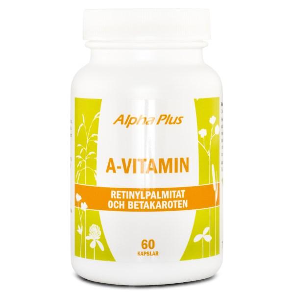 Alpha Plus A-vitamin 60 kaps