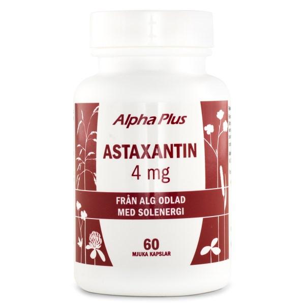 Alpha Plus Astaxantin 4 mg 60 kaps