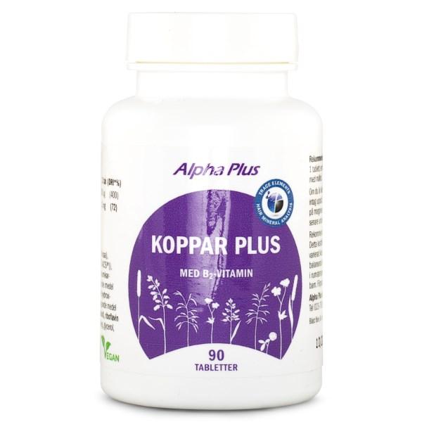 Alpha Plus HMA Koppar Plus 90 tabl