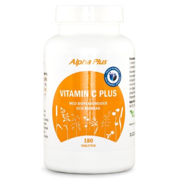 Alpha Plus HMA Vitamin C Plus 180 kaps