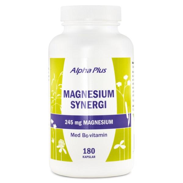 Alpha Plus Magnesium Synergi 180 kaps