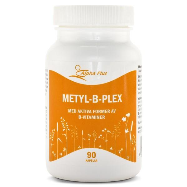 Alpha Plus Metyl-B-Plex 90 kaps