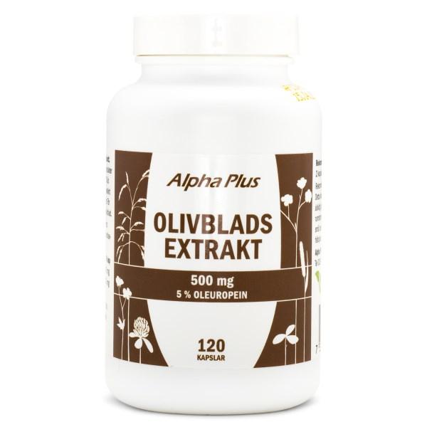 Alpha Plus Olivbladsextrakt 120 kaps