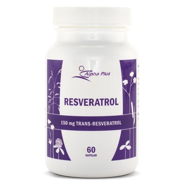 Alpha Plus Resveratrol 60 kaps
