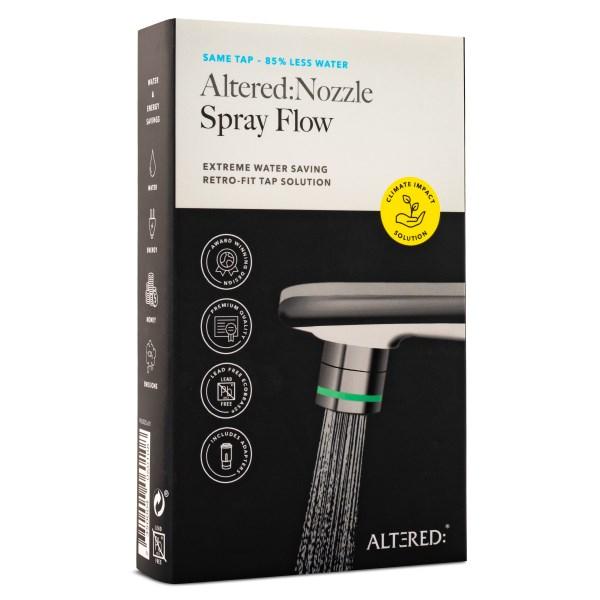 Altered Nozzle Spray Flow 1 st