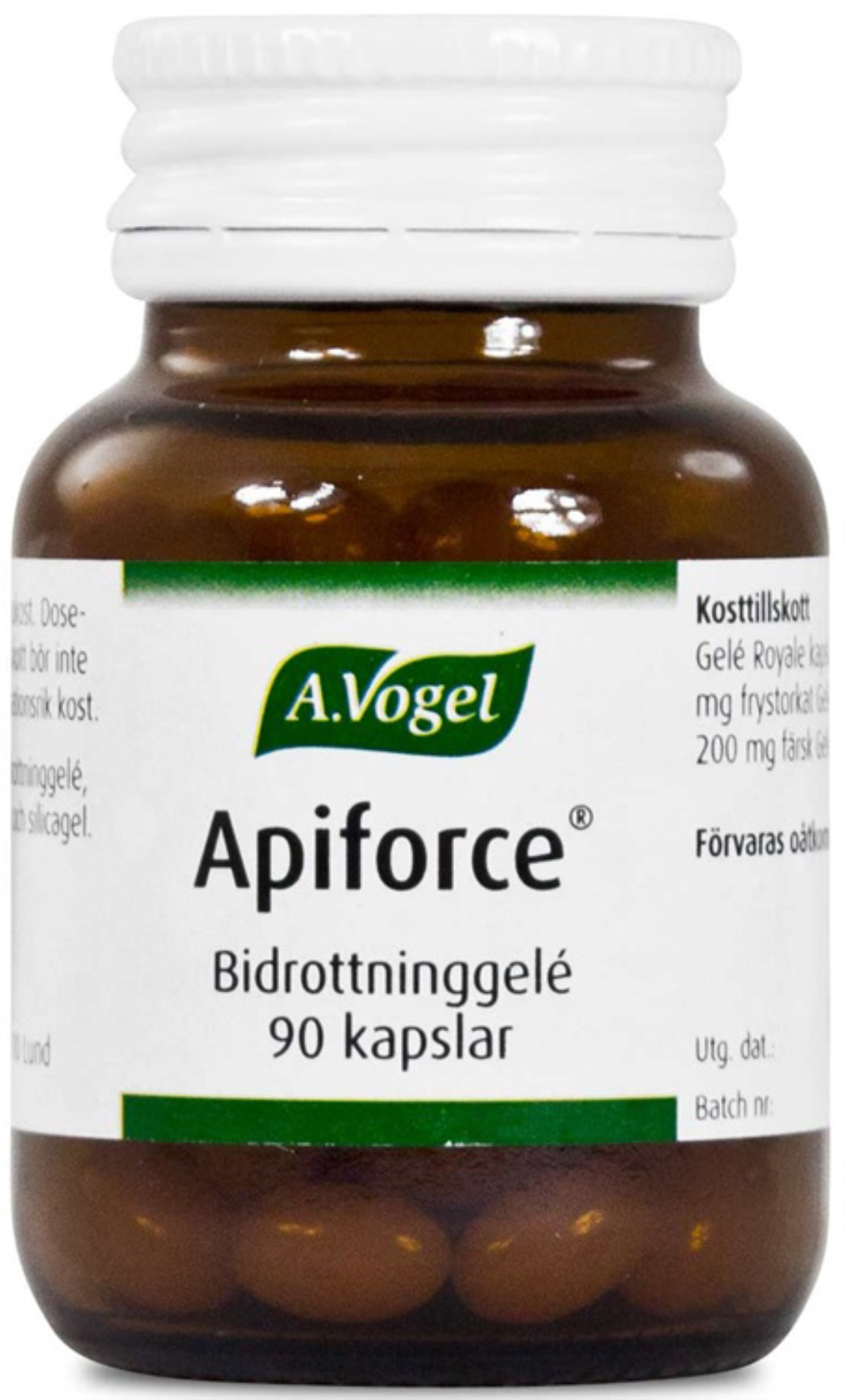Apiforce Bidrottninggele,  - A.Vogel