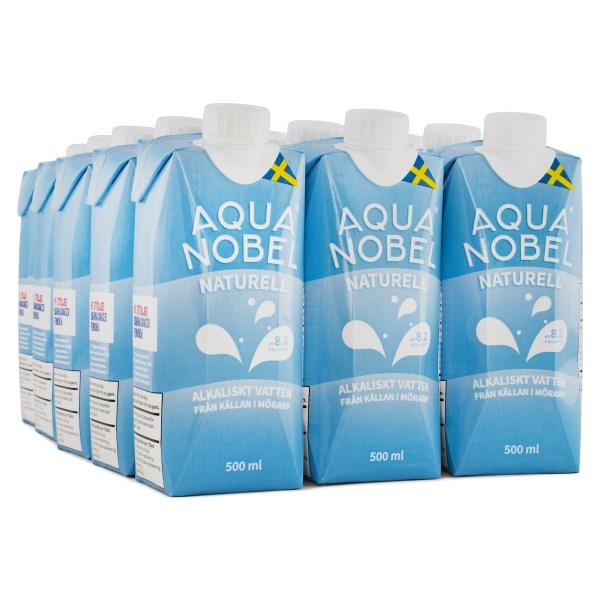 Aqua Nobel Stilla Källvatten 500 ml Naturell 12-pack