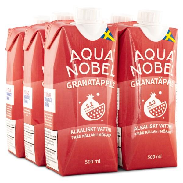 Aqua Nobel Stilla Källvatten 500 ml Granatäpple 6-pack