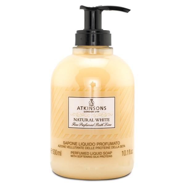 Atkinsons Liquid Soap 300 ml Natural White