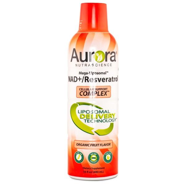Aurora Liposomal NAD & Resveratrol Complex 480 ml