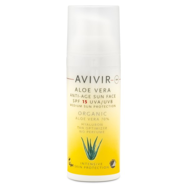 Avivir Aloe Vera Anti-Age Sun Face 50 ml