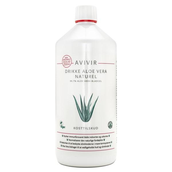 Avivir Aloe Vera Juice Naturell 1 L
