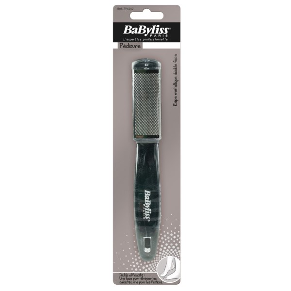 BaByliss Metallfotfil 2-sidig 1 st