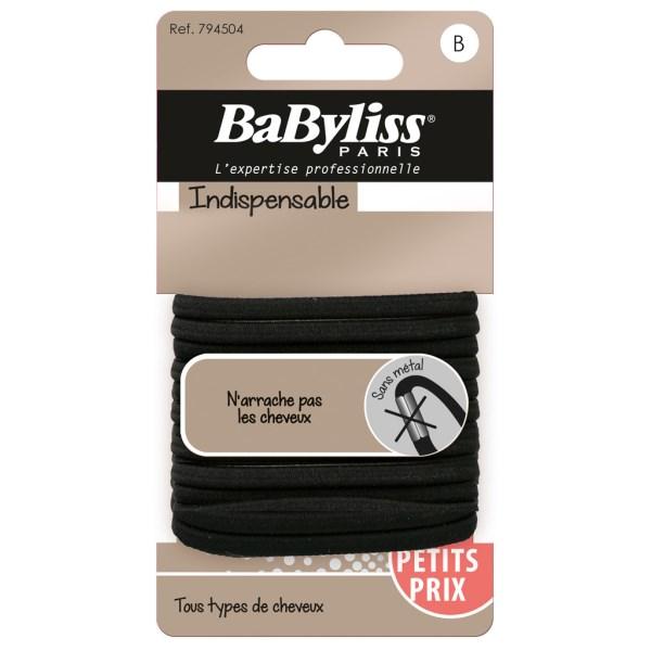 BaByliss Svart Hårsnodd 12-pack  1 st