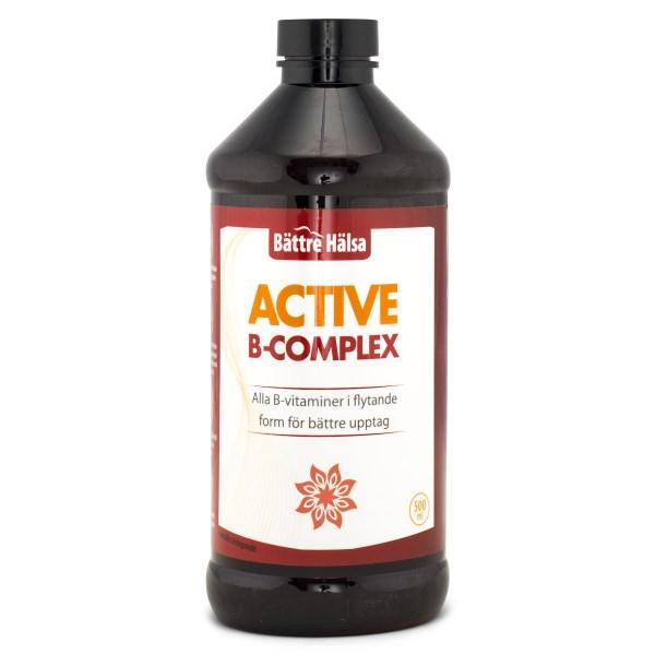 Bättre Hälsa Active B-Complex 500 ml