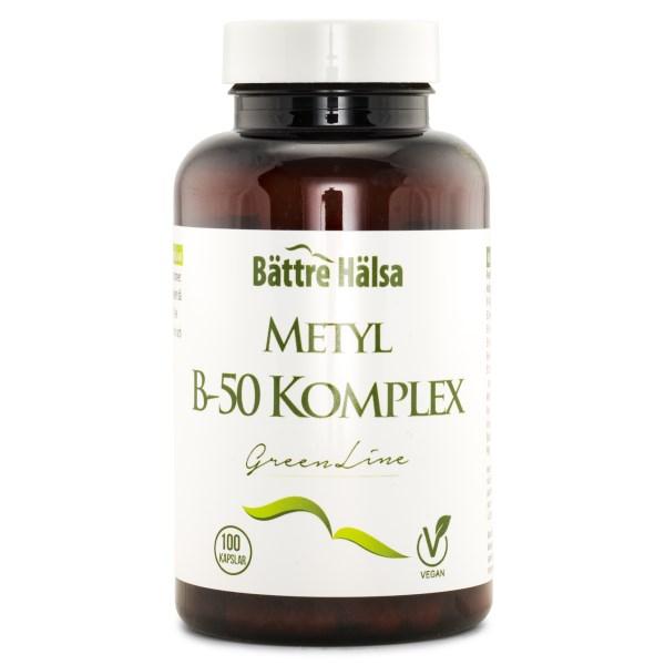 Bättre Hälsa B-50 Komplex Green Line 100 kaps