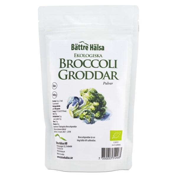 Bättre Hälsa Broccoligroddar EKO 100 g