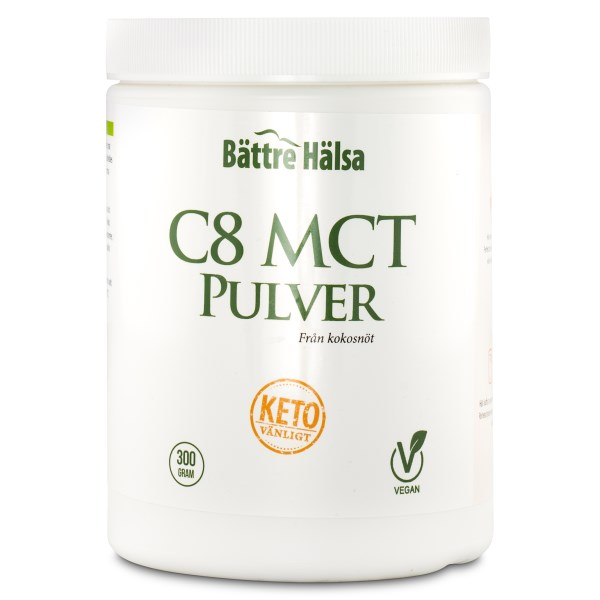 Bättre Hälsa C8 MCT Pulver 300 g