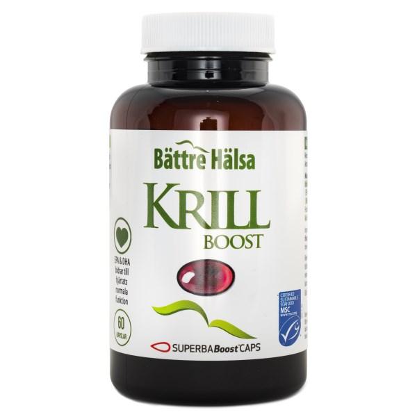 Bättre Hälsa Krillolja 60 kaps