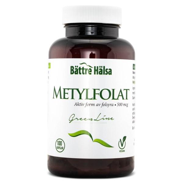 Bättre Hälsa Metylfolat 100 kaps