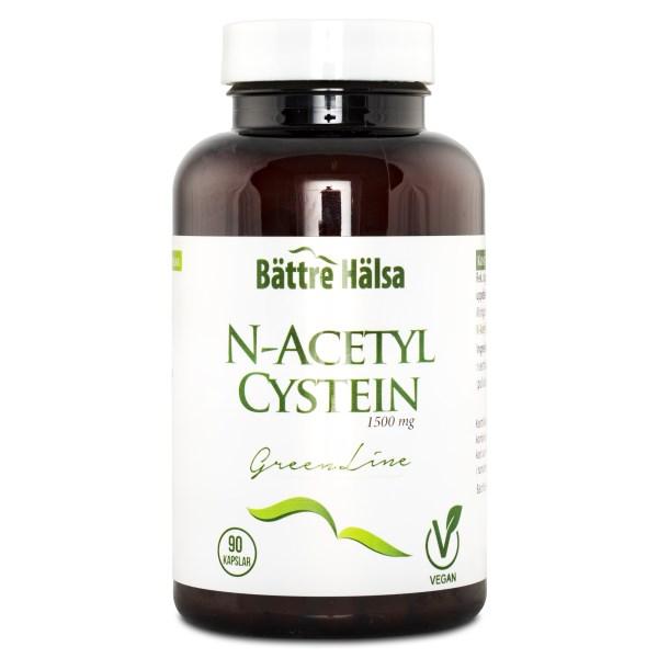 Bättre Hälsa N-Acetyl Cystein 90 kaps