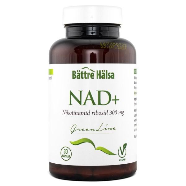 Bättre Hälsa NAD+ 300 mg 30 kaps