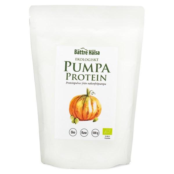 Bättre Hälsa Pumpafröprotein EKO 500 g