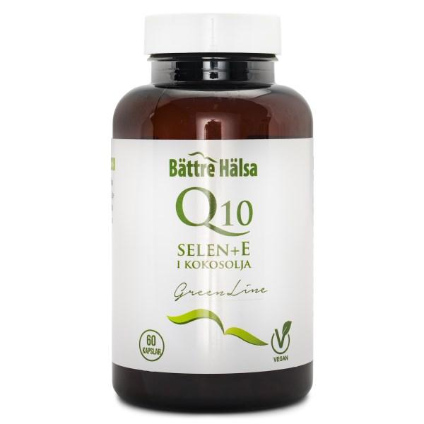Bättre Hälsa Q10 + Selen + E Green Line 60 kaps
