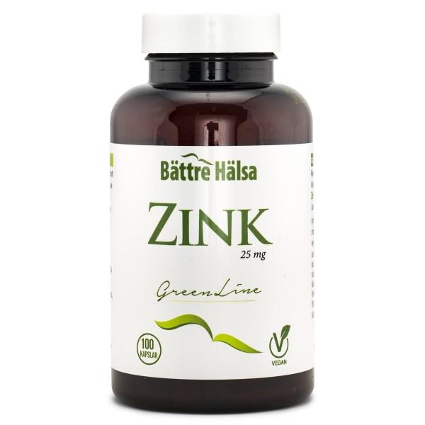 Bättre Hälsa Zink Green Line 100 kaps
