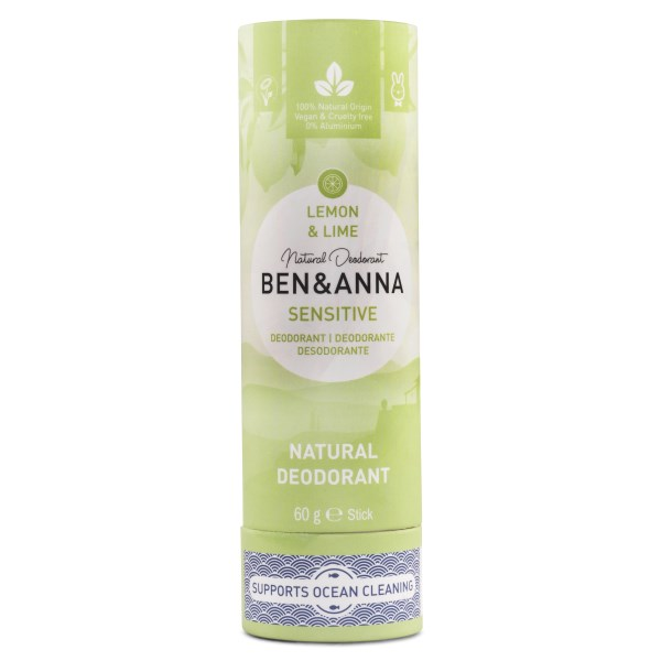 Ben & Anna Deodorant Sensitive 60 g Lemon & Lime