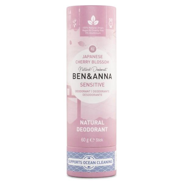 Ben & Anna Deodorant Sensitive 60 g Japanese Cherry Blossom