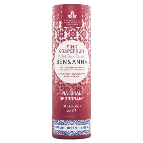 Ben & Anna Deodorant Stick 60 g Pink Grapefruit