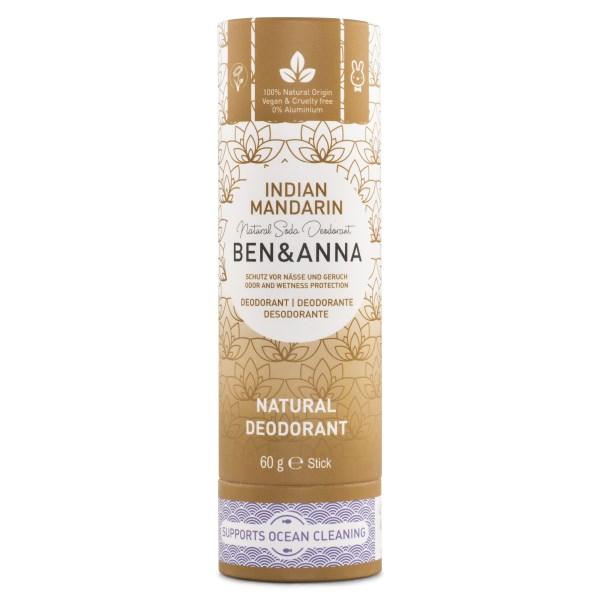 Ben & Anna Deodorant Stick 60 g Indian Mandarine